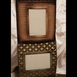 4 picture frame hanging metal holder 4x6 size